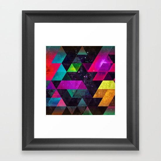 Ayyty Xtyl Framed Art Print
