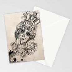 Sugar Skull Queen Stationery Cards