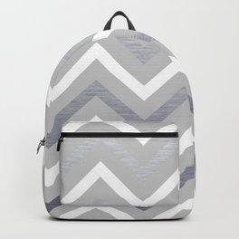Metallic Zigzag Backpack