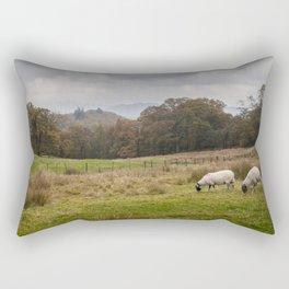 Storms and sheep Rectangular Pillow