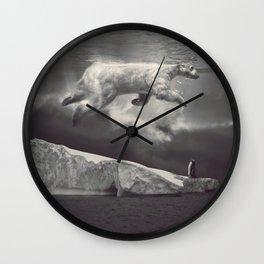 fernweh Wall Clock