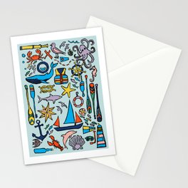 Nautical Drifts Stationery Cards