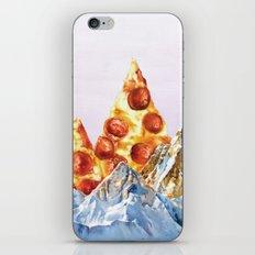 Pepperoni Pizza Peaks iPhone & iPod Skin