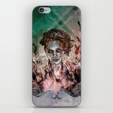 IN HER VICTORY GARDEN iPhone & iPod Skin