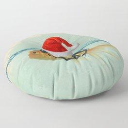 A Brilliant Disguise Christmas Floor Pillow