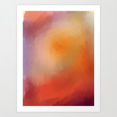 The Sky Part 1 Art Print