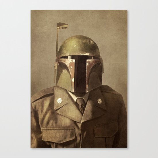 General Fettson Canvas Print