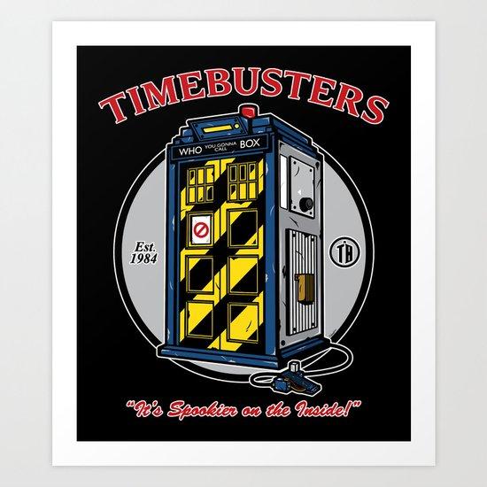 Timebusters Art Print