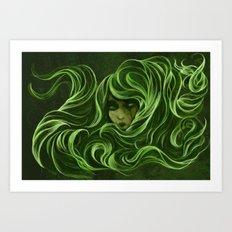 Emerald Ocean Art Print