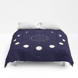 Moon Phases Comforters