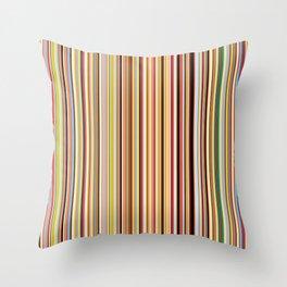 Old Skool Stripes Throw Pillow