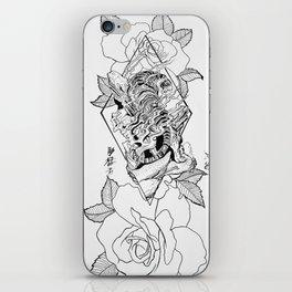Tiger love iPhone Skin