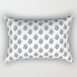 Lilacs: Syringa Rectangular Pillow