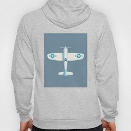 F4U Corsair Fighter Aircraft - Slate Hoody