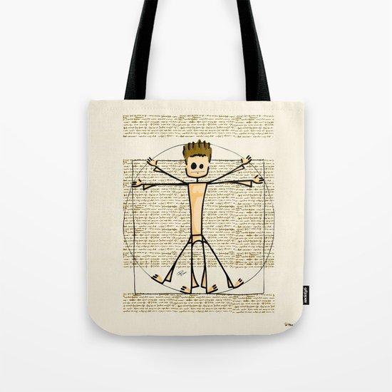 Vitruvius Tote Bag