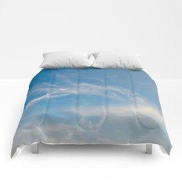 Hummingbird Cloud by Teresa Thompson Comforters
