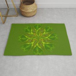 Color Meditation - Green Rug