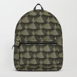 Dark art deco Backpack