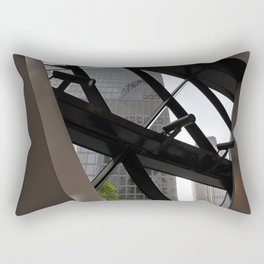 The Gherkin from within Rectangular Pillow