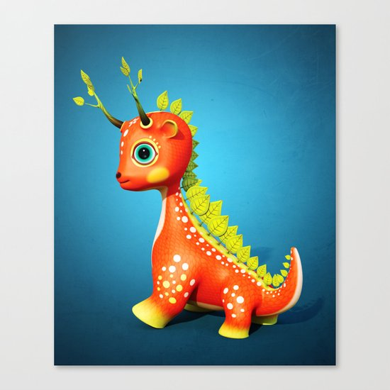 The Leaf Dragon Canvas Print