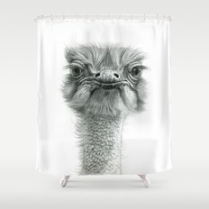 Ostrich G119 Shower Curtain