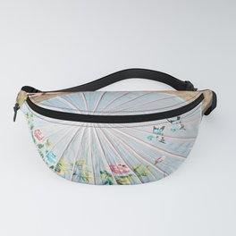 Pretty Parasol Fanny Pack