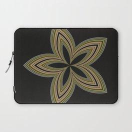 Fractal Star Aura in CMR 01 Laptop Sleeve