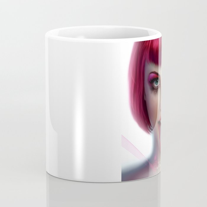 KISS ME - Pink Coffee Mug
