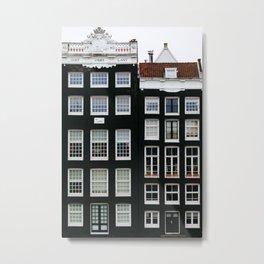 Scandi Style - Amsterdam Travel Photography Metal Print