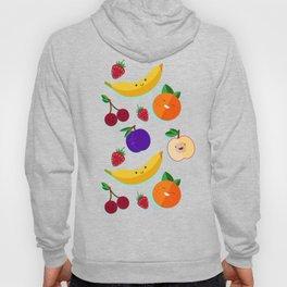 happy fruits and berries Hoody