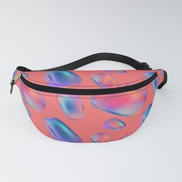Abstract soap bubbles Fanny Pack