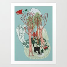 A Stick-Insects Dream Art Print