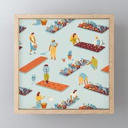 Garden of dreamers Framed Mini Art Print