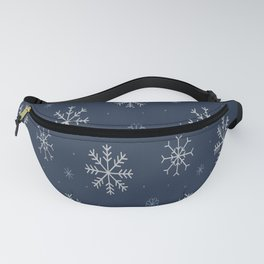 Artistic snowflakes pattern Fanny Pack