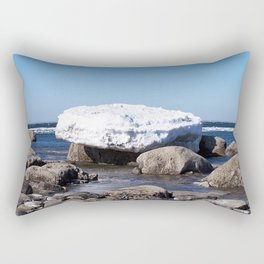 Perched on the Boulders Rectangular Pillow