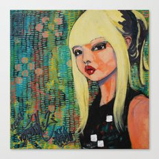 NYLON inspired  Canvas Print