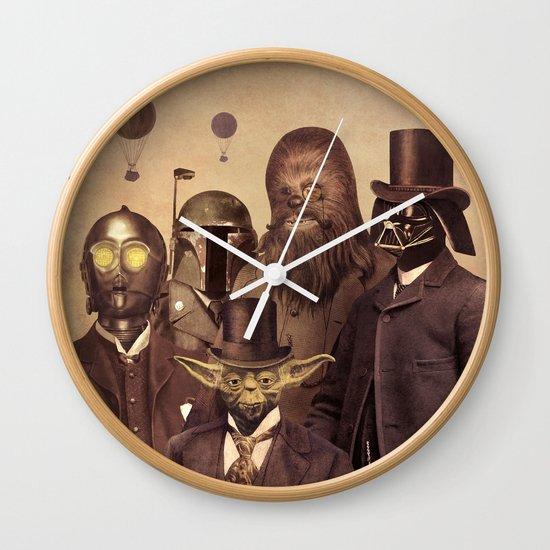 Victorian Wars  - square format Wall Clock