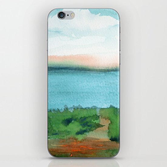 Passing Afternoon iPhone & iPod Skin