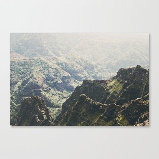Hawaii Green Canvas Print
