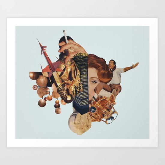 Intergalatic.... Art Print
