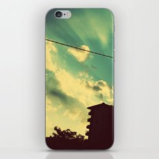 sun goes down iPhone & iPod Skin