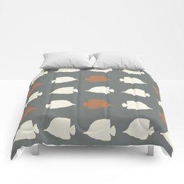 School of Fish IV Comforters