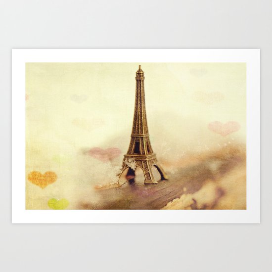 I know exactly where my heart is Art Print