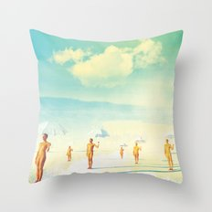 Vision of Life Throw Pillow
