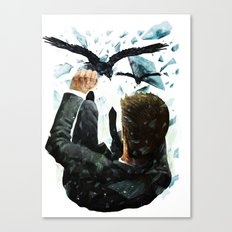 Falling To The Crows Canvas Print