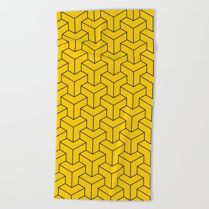 Interlocked Beach Towel