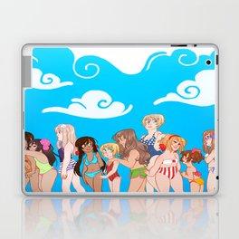 Hetalia Girls Laptop & iPad Skin
