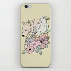 si canem corvus iPhone & iPod Skin