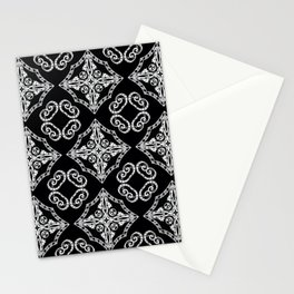 Victorian Gothic Holiday Wallpaper Stationery Cards
