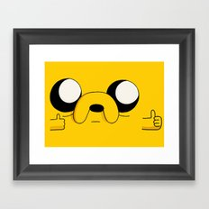COOL MAN Framed Art Print